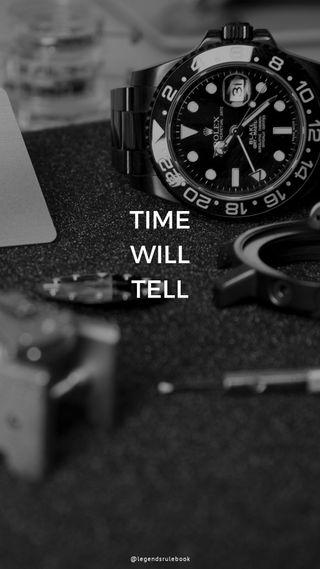 Обои на телефон вдохновение, цитата, мотивация, время, wallpaperquotes, rolex, legendsrulebook