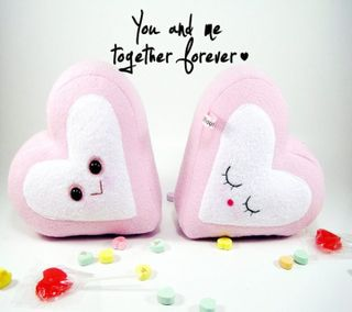 Обои на телефон эмо, навсегда, ты, сердце, романтика, пара, любовь, love, i love you