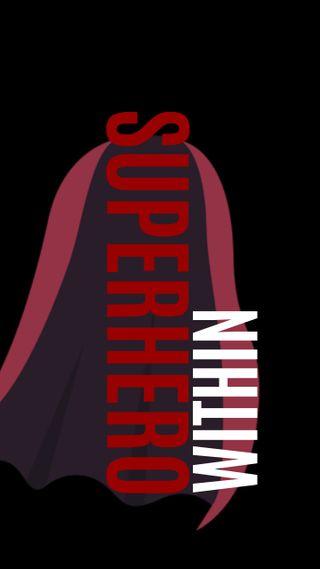 Обои на телефон верить, черные, супермен, супергерои, отношение, загрузка, superhero within, cape