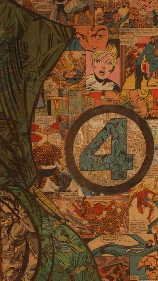 Обои на телефон фантастические, супергерои, мстители, марвел, комиксы, marvel, fantastic four comic, fantastic four