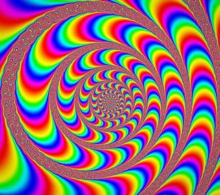 Обои на телефон спираль, цветные, иллюзии, вихрь