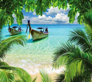 Обои на телефон тропические, пляж, любовь, классные, love
