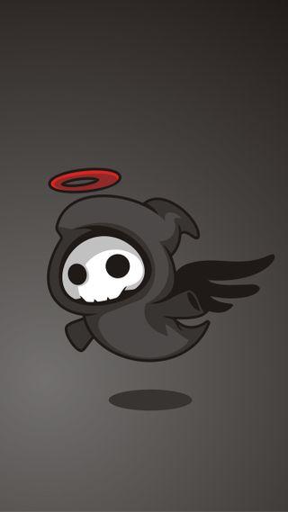 Обои на телефон темные, призрак, летать, другие, ангел, ghost-angel, ghost