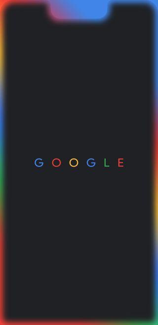 Обои на телефон светящиеся, гугл, грани, pixel 3 xl edge glow, pixel 3 xl, pixel, google