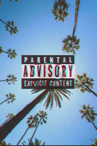 Обои на телефон рэп, музыка, parental advisory