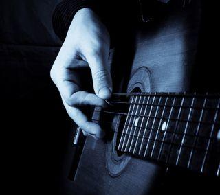 Обои на телефон рука, гитара, приятные, новый, музыка, инструмент, игра
