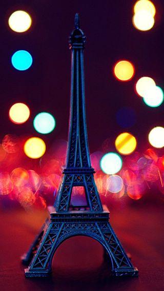 Обои на телефон эйфелева башня, париж, боке