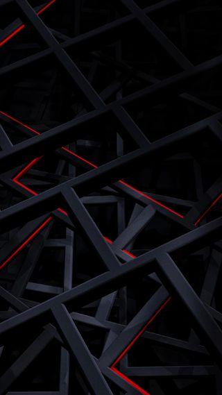 Обои на телефон электрические, черные, цифровое, темные, красые, дизайн, амолед, абстрактные, amoled