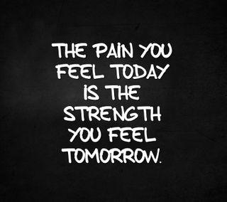 Обои на телефон знаки, цитата, сила, сегодня, поговорка, новый, крутые, завтра, боль, the strength