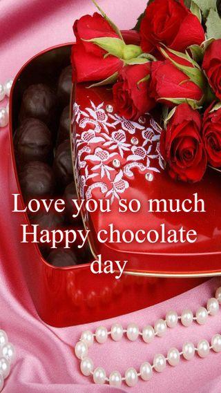 Обои на телефон шоколад, ты, счастливые, розы, любовь, жизнь, жемчужина, день, валентинка, i love you, happy chocolate day