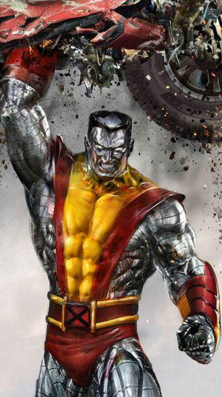 Обои на телефон colossus, dc, marvel, x-men, марвел, супер, герой, комиксы, стальные, люди, люди икс