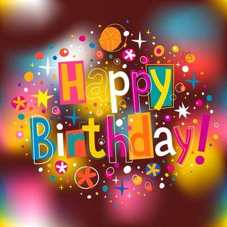 Обои на телефон день рождения, фон, счастливые, празднование, буквы, абстрактные, happy