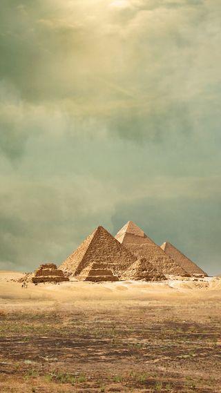 Обои на телефон пустыня, пирамиды, песок, египетский, египет, арабские, 2017