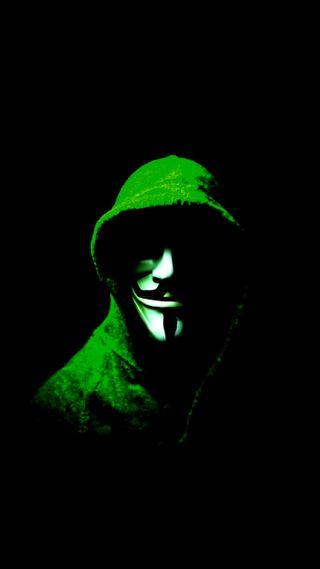 Обои на телефон хакер, маска, анонимус