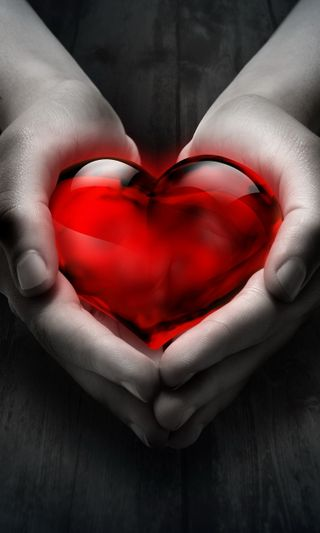 Обои на телефон руки, фон, сердце, любовь, красые, red love