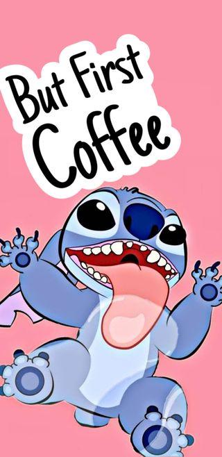 Обои на телефон сумасшедшие, супер, стич, кофе, shin, crazy coffee stitch