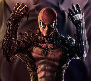 Обои на телефон паук, марвел, герой, the spider man, marvel