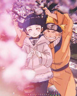 Обои на телефон сакура, цветы, хината, розовые, неоновые, наруто, манга, любовь, аниме, naruhina, love, hd