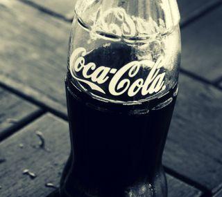 Обои на телефон кола, бутылка, напиток, кока, винтаж