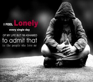 Обои на телефон чувствовать, одиночество, одинокий, любовь, высказывания, love, i feel lonely