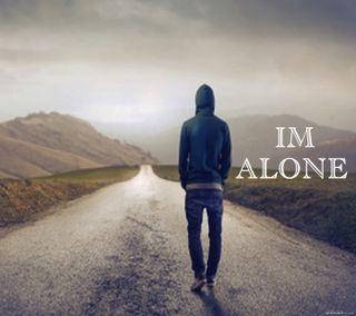 Обои на телефон одиночество, любовь, классные, love, im alone, 2016