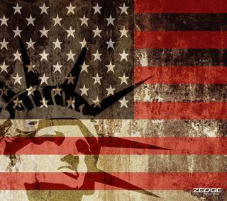 Обои на телефон прайд, сша, свобода, леди, военные, армия, америка, zedgeamerica, usa, lady liberty