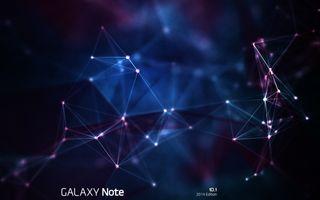 Обои на телефон синие, галактика, абстрактные, points, note, galaxy note 10 point, galaxy, 10