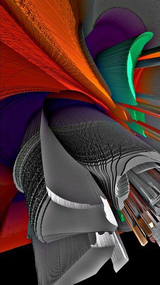 Обои на телефон амолед, черные, цифровое, современные, материал, красочные, дизайн, графика, абстрактные, material design 0163, hd, amoled, 4k, 3д, 3d