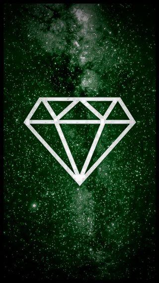 Обои на телефон чилл, бриллиант, зеленые, галактика, green diamond galaxy, green diamond, green chill