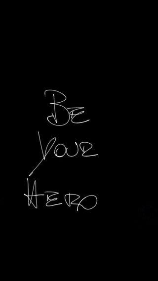 Обои на телефон элегантные, черные, твой, ручка, простые, минимализм, любовь, лучшие, знаки, герой, будь, simple minimal, love, be your hero