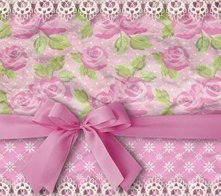 Обои на телефон лук, шаблон, розы, розовые, кружево, винтаж, бумага, vintage by marika
