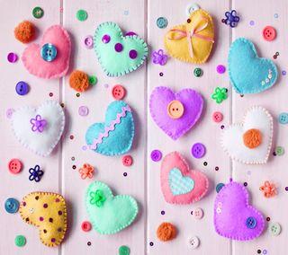Обои на телефон фон, сердце, милые, любовь, красочные, love cute, hearts colorful