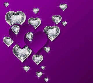 Обои на телефон бриллиант, сердце, роскошные, любовь, валентинка, блестящий, luxury, love, diamond hearts