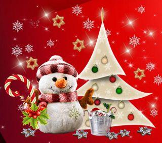 Обои на телефон счастливое, снеговик, рождество, 2160x1920px, merry christmas snowman