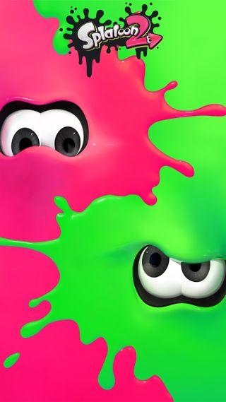Обои на телефон чернила, видео, розовые, мальчик, любовь, игра, зеленые, девушки, squid, splatoon 2, splatoon, love, inkling, fps