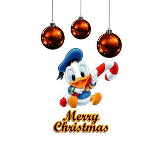 Обои на телефон счастливое, рождество, дональд, дисней, 1440x1280px, disney