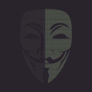 Обои на телефон анонимус, anon