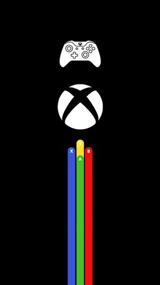 Обои на телефон цвета, простые, приставка, xbox wallpaper, xbox one, xbox, hd