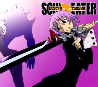 Обои на телефон душа, soul eater, crona