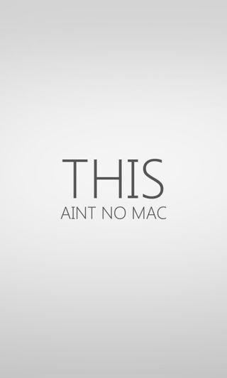 Обои на телефон this, no, mac, aint
