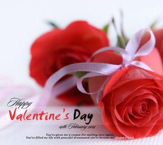 Обои на телефон валентинки, счастливые, розы, любовь, день, love, 14 feb