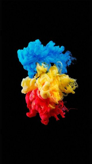 Обои на телефон взрыв, цветные, красые, дым