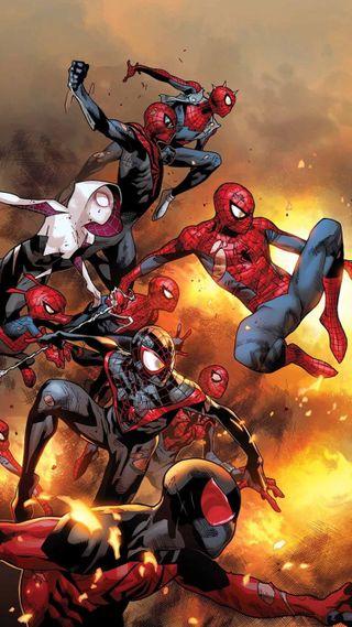 Обои на телефон человек паук, паучок, паук, марвел, вселенная, spider-verse, sipiderverse, marvel