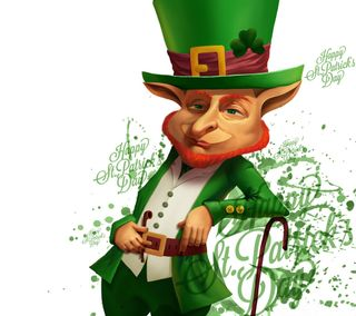 Обои на телефон трилистник, ирландские, праздник, патрик, ирландия, leprechaun