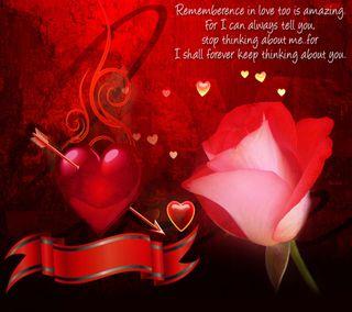 Обои на телефон ты, сердце, розы, поговорка, мышление, любовь, thinking about you, love