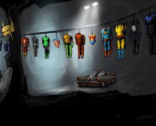 Обои на телефон герои, супермен, супергерои, стальные, костюм, uniform, powers, laudry heroes, dc