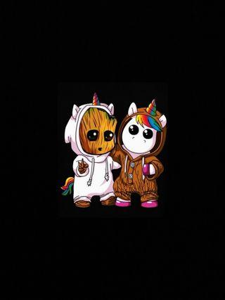 Обои на телефон чикаго, темы, привет, логотипы, грут, unicor groot, hello