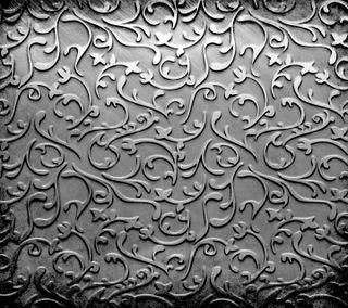 Обои на телефон серебряные, шаблон, текстуры, стальные, орнамент, металл