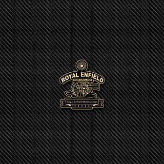 Обои на телефон эмблемы, карбон, значок, royal enfield carbon, royal enfield