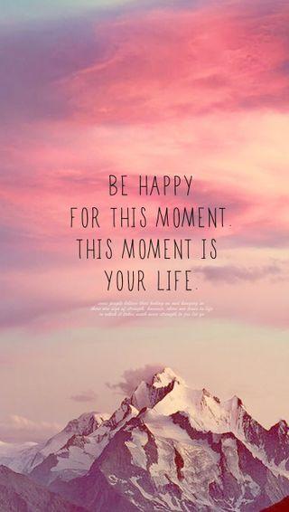 Обои на телефон happy, this, жизнь, счастливые, будь, твой, момент